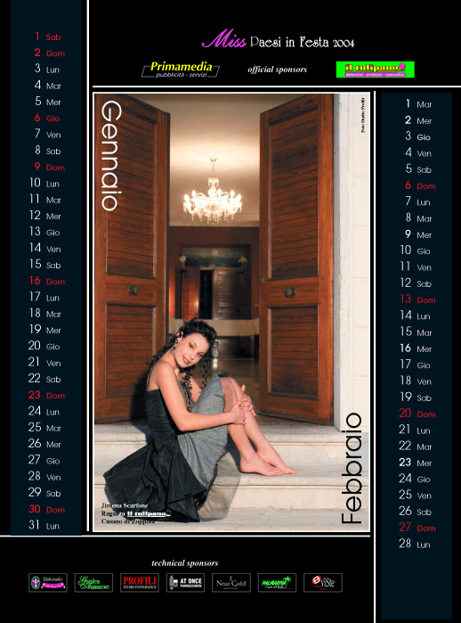 Calendario 2005  - Calendari