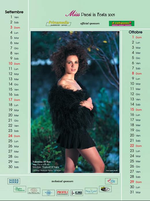 Calendario 2006  - Calendari