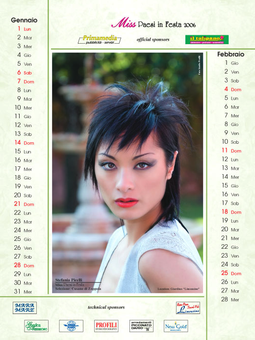 Calendario 2007  - Calendari